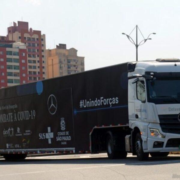 Mercedes-Benz cria unidade móvel de tomografia para combate à Covid-19